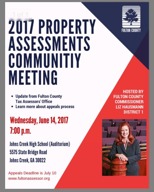 Fulton County Assessor Meeting
