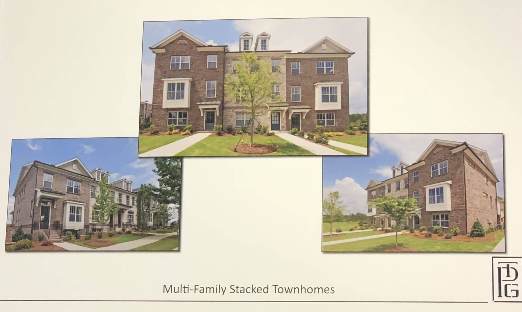 Multi Family Stacked Townhomes