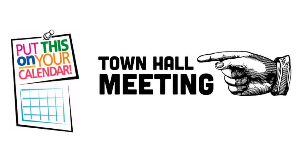 Mayor Bodker & City Council Hosting Town Hall