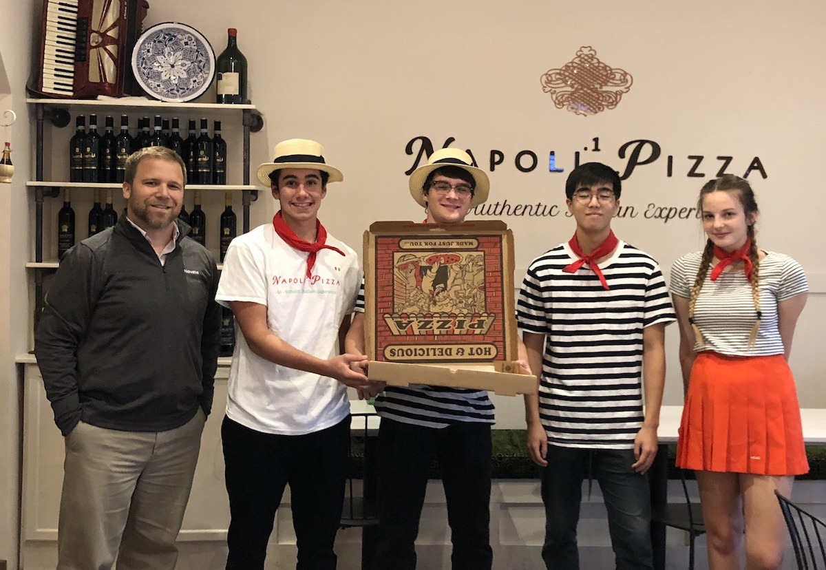 napoli 1: Free Pizza Winner in Johns Creek