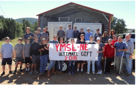 local high school boys - YMSL North Fulton Gives Back