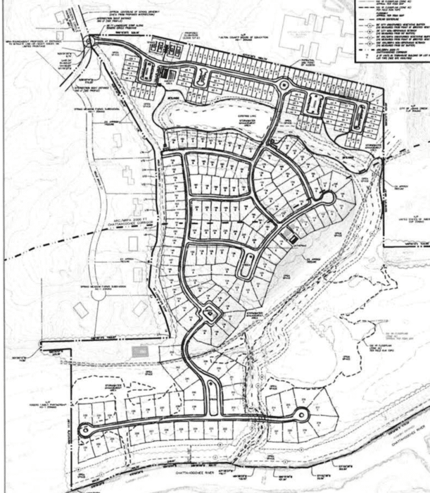 Withdrawal: Massive Shakerag Subdivision Rezoning Embry Farms