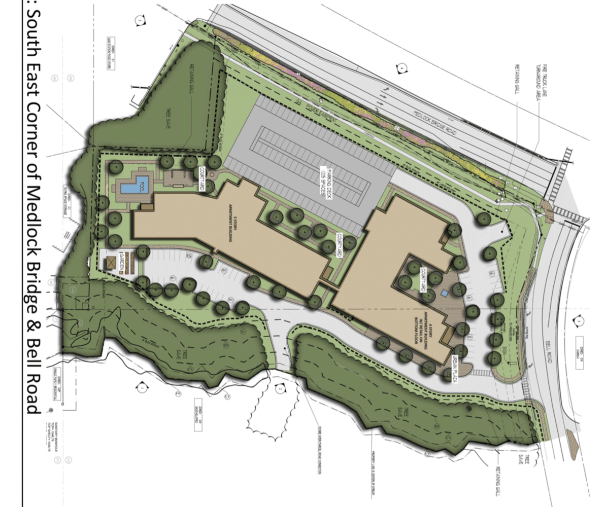 Bell Rd Apartments-Council Approved Site Plan
