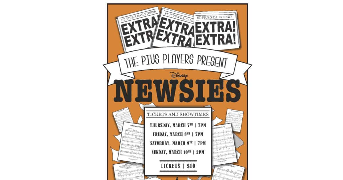 Newsies - Pius Players