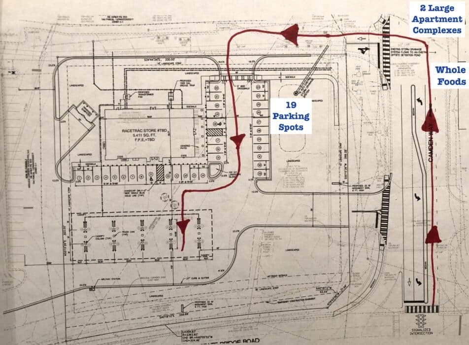 Race Trac Seeks Rezoning