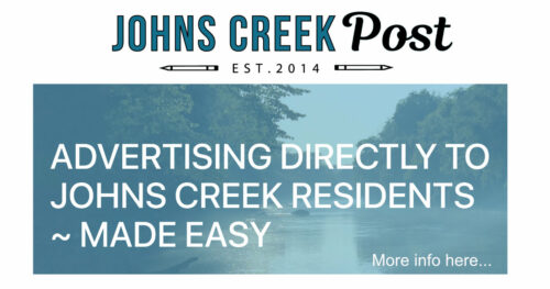 Advertise to Johns Creek Residents