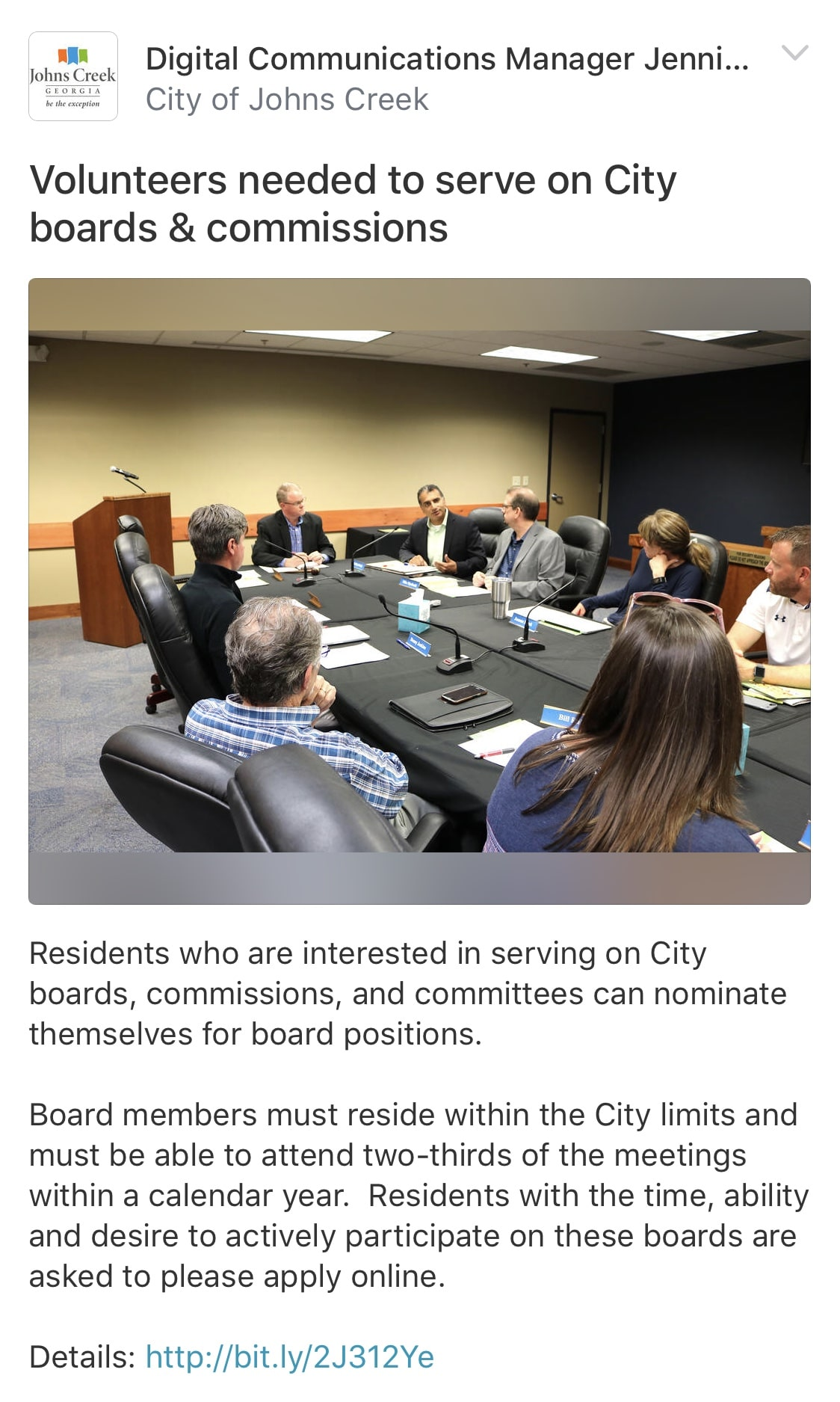 Call for volunteers to serve on Boards2018