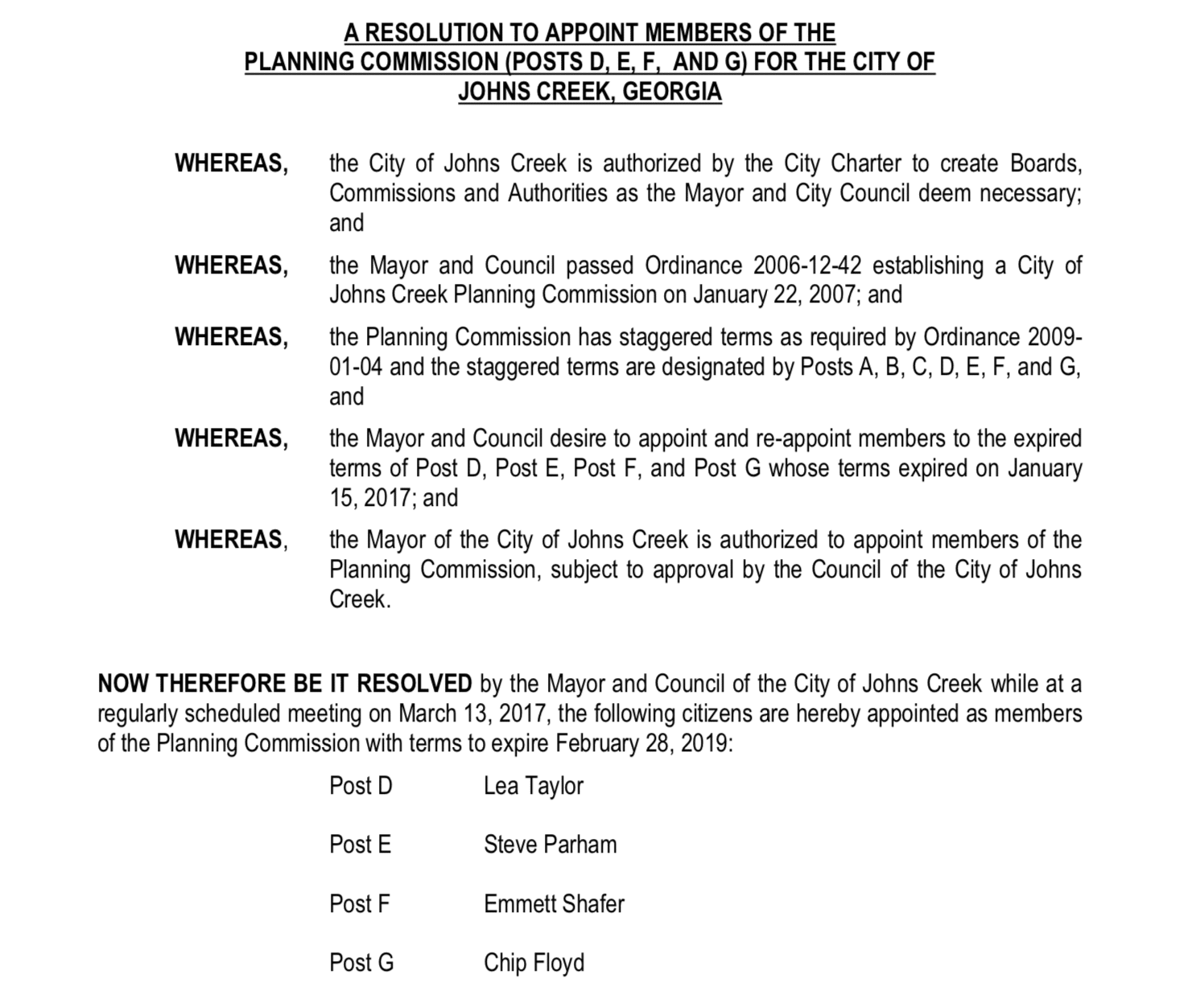 Planning Commission Feb 28 2018