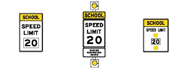 School Flashers in Johns Creek