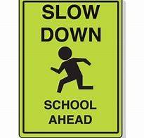 Static School Sign - Johns Creek Post