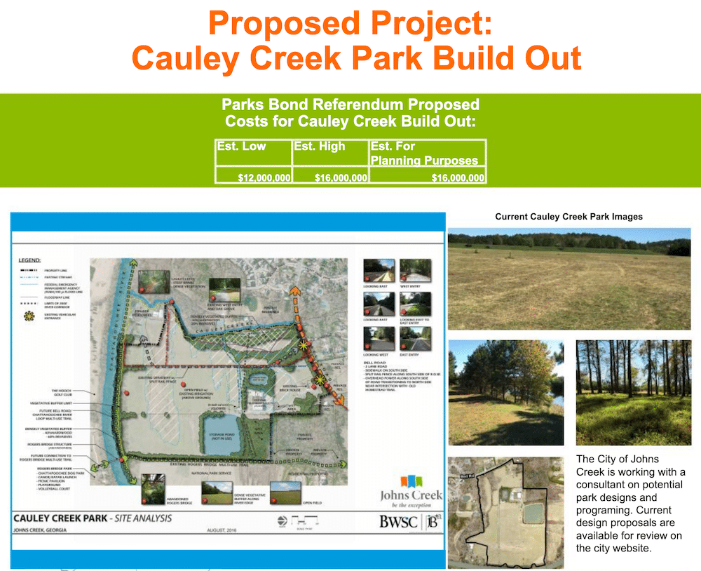 Cauley Creek Proposed Park