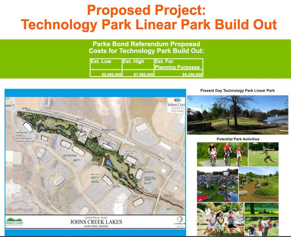 Linear Proposed Park