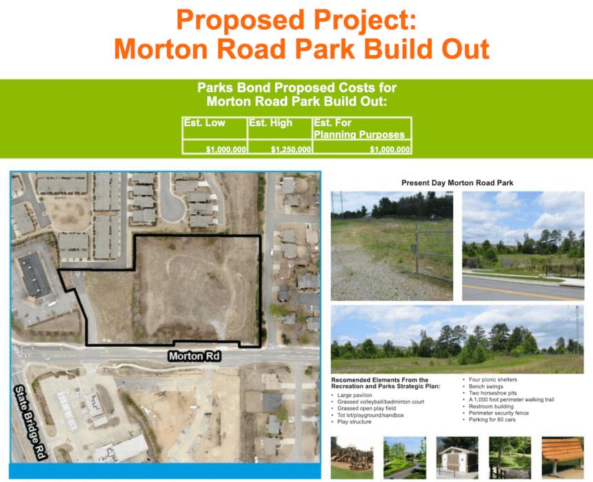 Morton Rd Proposed Park