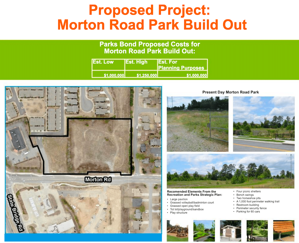 Morton Rd Proposed Park