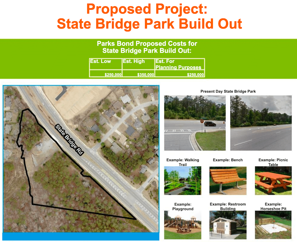 State Bridge Proposed Park