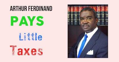Arthur Ferdinand Pays Little Taxes https://www.johnscreekpost.com