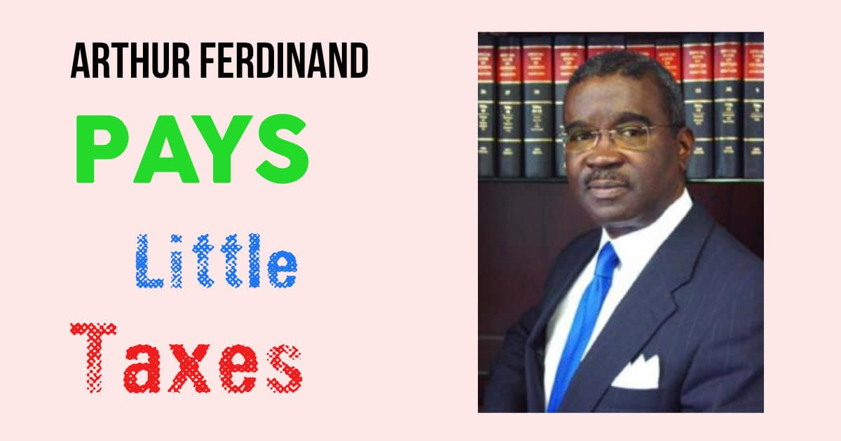Arthur Ferdinand Pays Little Taxes https://www.johnscreekpost.com