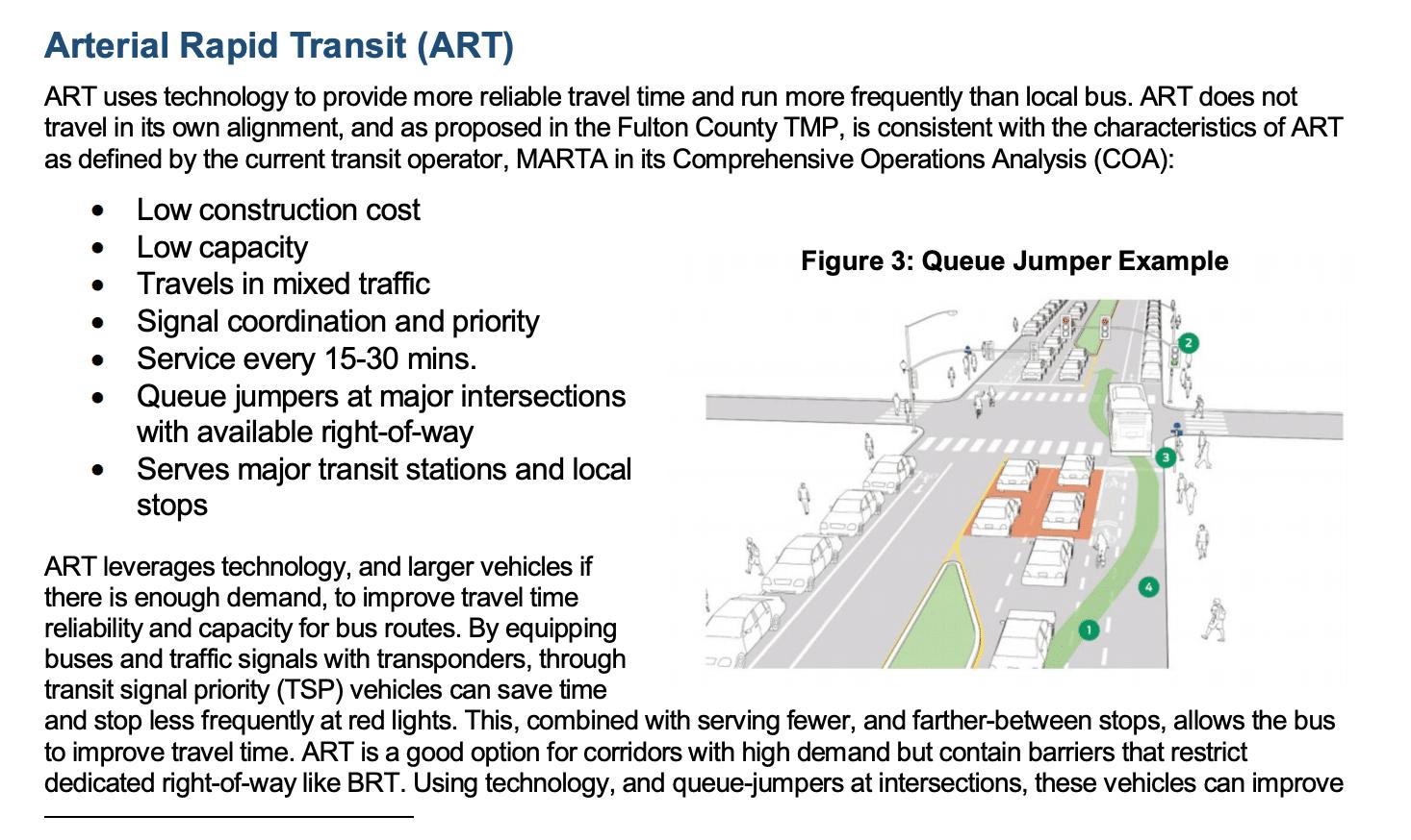 Arterial Rapid Transit for Johns Creek