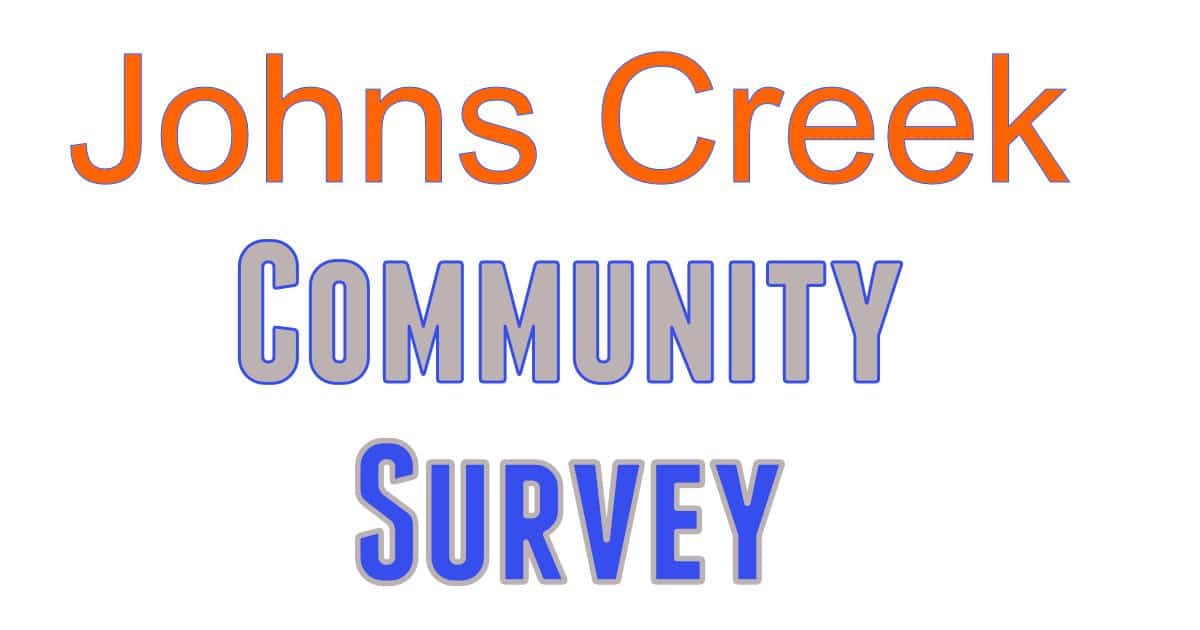 Johns Creek Community Survey