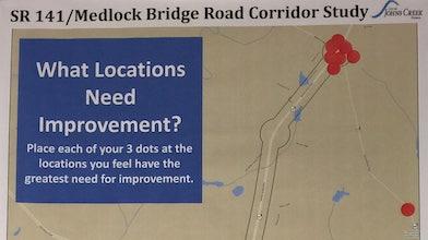 Medlock Bridge Rd Corridor Study