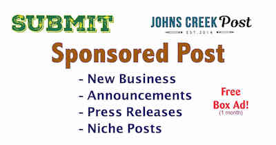 Sponsored Post Submission: Contribute - https://www.johnscreekpost.com