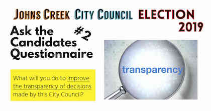 ask the candidates-2 improve transparency of decisions-