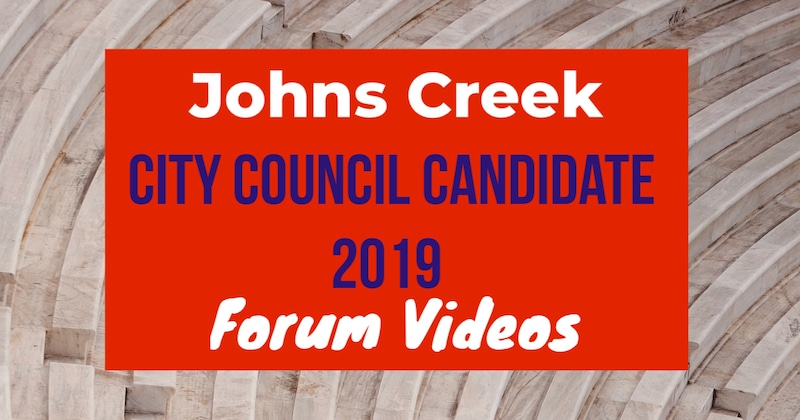 Johns Creek Candidate Debate