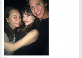 Cori Davenport & John Hartrampf party at concert 3 months after Billboard settlement