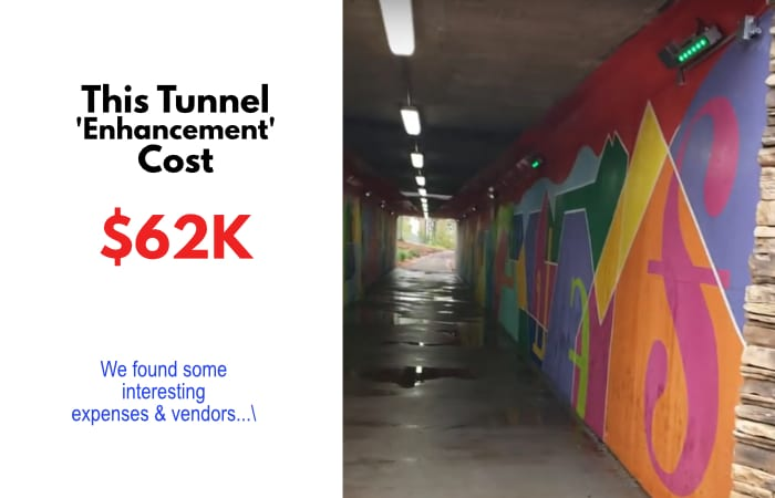 Tunnel expenses kent altom johns creek