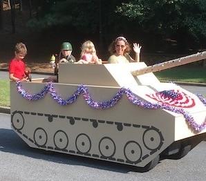 Jennifer Jensen - July 4th Golf Cart Parade: St Ives Country Club, Johns Creek, GA