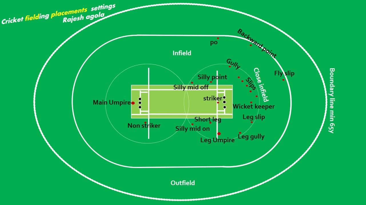 Cricket Fielding Placement Settings