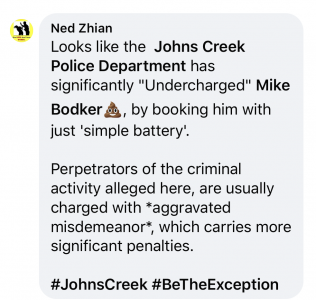 Ned Zhian JCP FB comment