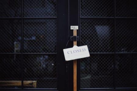 We're Closed Photo by Masaaki Komori