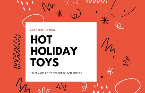 Hot Holiday Toys