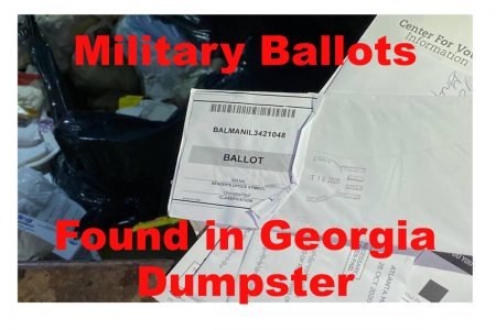 military ballots found in Georgia Dumpster?