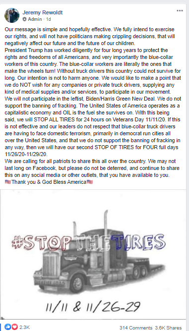 stop the tires #stopthetires