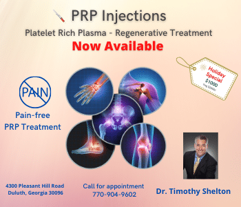 Dr Shelton PRP Injections