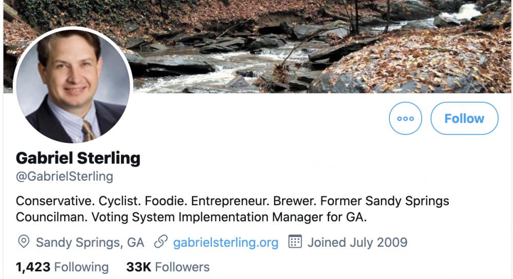 Gabriel Sterling Twitter
