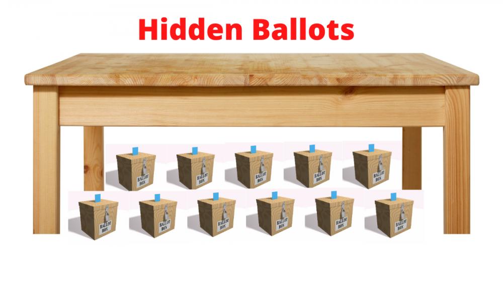 Hidden Ballots in Georgia