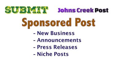 Sponsored Post Submission Johns Creek Post